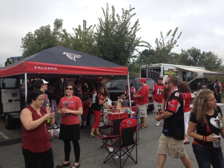 Live from the tailgate