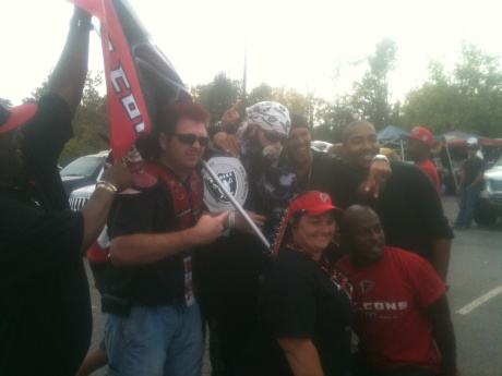 Last seasons Raiders Falcons game