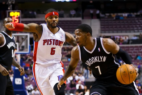 Josh Smith and Joe Johnson on their new teams. (Rick Osentoski-USA TODAY Sports)