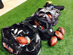 The Falcons will break out the footballs for practices with the Tennessee Titans and hold their Friday Nights Lights scrimmage at Archer High in Lawrenceville. (D. Orlando Ledbetter/Dledbetter@ajc.com)